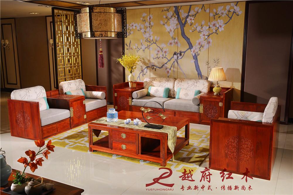 越府红木:新中式红木家具赏析
